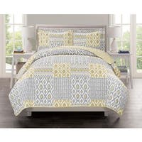 Swift Home Collection Atlas Printed 3-piece Quilt Set