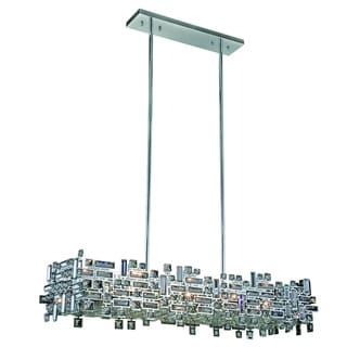 Link to Elegant Lighting Picasso 44-inch Pendant Lamp with Chrome Finish and Crystal Similar Items in Pendant Lights