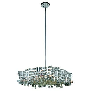 Elegant Lighting Picasso 24-inch Pendant Lamp with Chrome Finish and Crystal|https://ak1.ostkcdn.com/images/products/11884449/P18781164.jpg?impolicy=medium
