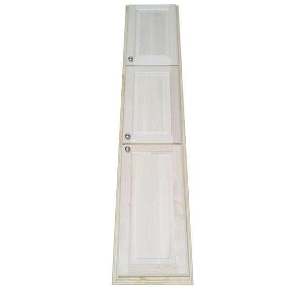 Unfinished Kitchen Pantry Cabinet: Shop Barcelona Unfinished Wood 78-inch Recessed Pantry