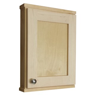 Shawnee Series Natural Unfinished Wood 18-inch x 2.25-inch Wall Cabinet