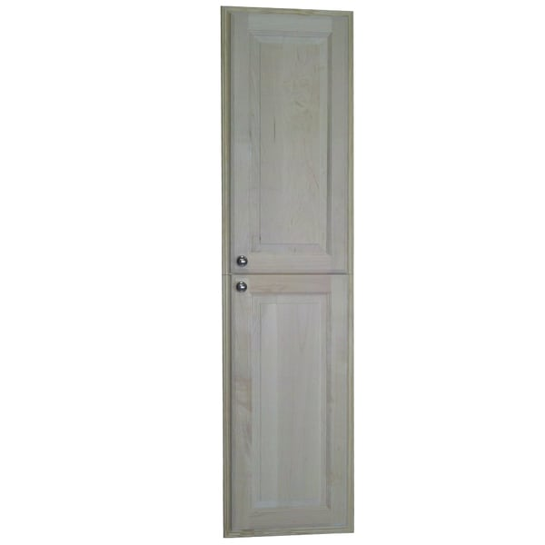 Barcelona Natural Wood 60 Inch Recessed Pantry Storage