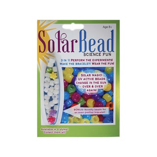 Tedcotoys Science Fun Kit Solar Bead Actvity and Bracelet