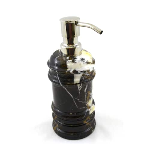 Nature Home Decor Bengal Collection Michelangelo Marble Lotion Dispenser