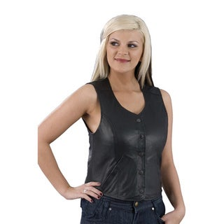 Women's Long Snap-front Body Vest