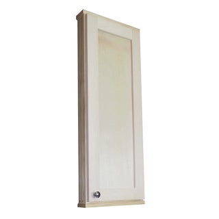 WG Wood Products Shawnee Series Natural Unfinished Wall Cabinet