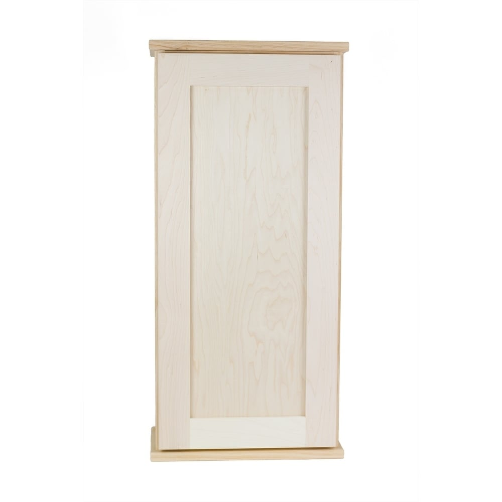 WG Wood Products Shawnee Series Unfinished Wood 49.5-inch...