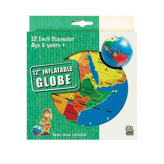 Tedcotoys Kids 12-inch Country Inflatable Globe