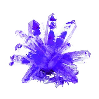 Tedcotoys Purple Giant Magical Crystal
