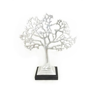 Metal Living Tree Jewelry Stand