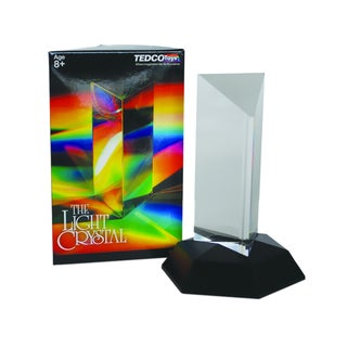 Tedco Toys Kids 4.5-inch Light Crystal Prism Kids Classroom Activity
