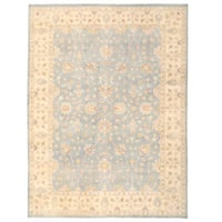 Herat Oriental Afghan Hand-knotted Oushak Wool Rug (9'11 x 13'4)