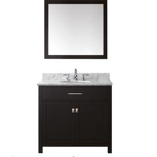 Virtu USA Caroline 36-inch Single Bathroom Vanity Set with Faucet