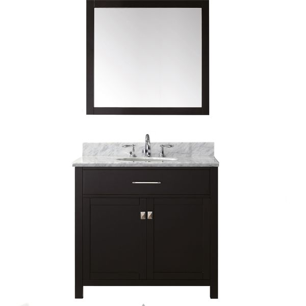Virtu usa caroline 36 inch single bathroom vanity set with Virtu usa caroline 36 inch single sink bathroom vanity set