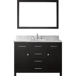 Virtu USA Caroline 48-inch Single Bathroom Vanity  Set with Faucet