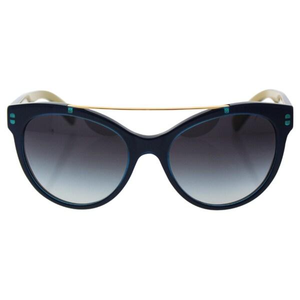 282ce9601902 Shop D G Women s DG4280 29588G Gold Plastic Round Sunglasses - Free ...
