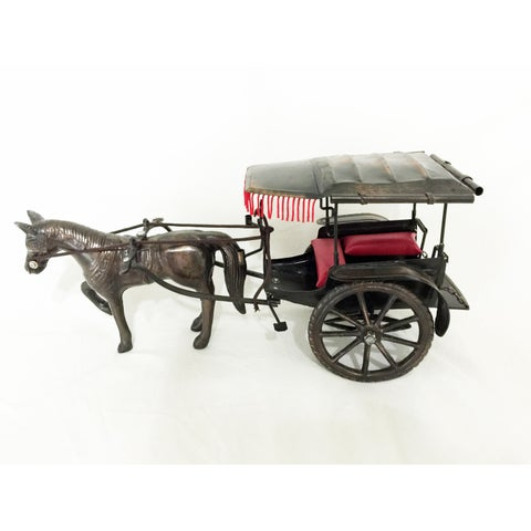 Horse Carriage Trolley Decor