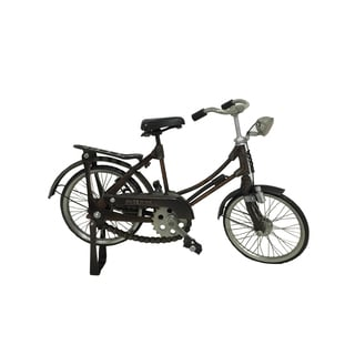Metal Vintage Female Bicycle Decor