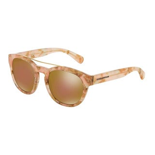D&G Women's DG4274 2928F9 Pink Plastic Phantos Sunglasses