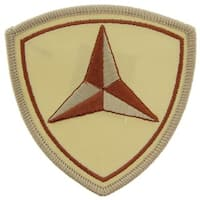 U.S. Marine Corps 3rd Division Desert Storm Patch
