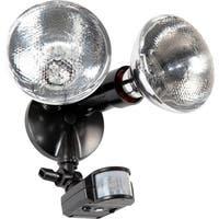 Lithonia Lighting OMS 1000 PR2 120 DDB M4 150W Outdoor Black Bronze Par Holder with 180-degree Detection Motion Sensor