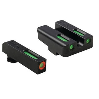 Truglo Brite-Site TG13GL1PC Black Steel Tritium Night Sight Handgun Set