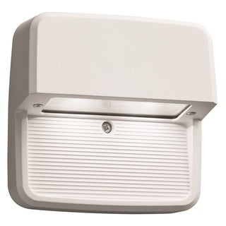 Lithonia Lighting OLSS WH M6 Outdoor LED Step Light Square
