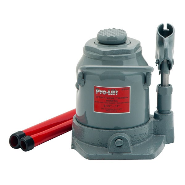 Pro Lift B S20d 20 Ton Shorty Hydraulic Bottle Jack Free