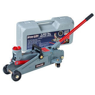 Pro-Lift F-2315PE 3,000-pound Hydraulic Trolley Jack With Blow-molded Case