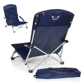 Picnic Time Charlotte Hornets Navy Tranquility Portable Beach Chair