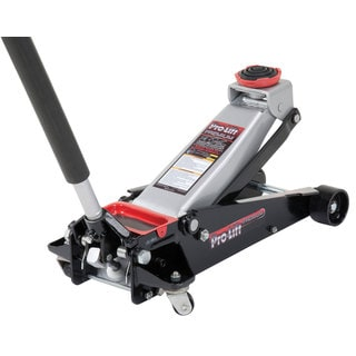 Height Pro-Lift G-737 Black/Silver/ Red 3.5-ton Professional Grade Speedy Lift Garage Jack