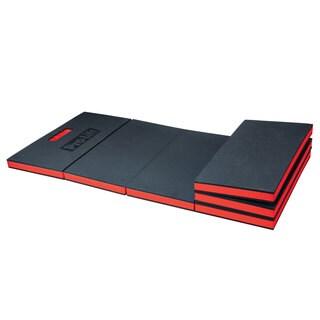 Pro-Lift C-5006 Black/Red EVA Foam 47.6-inch x 16.5-inc x 1.2-inch Six-fold Foldable Utility Pad