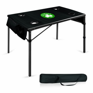 Picnic Time Boston Celtics Black Polyester Travel Table