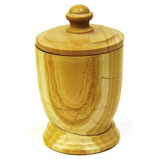 Nature Home Decor Canister Teakwood Marble 309TW