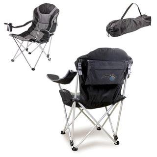 Picnic Time Orlando Magic Black Metal/Polyester Reclining Camp Chair
