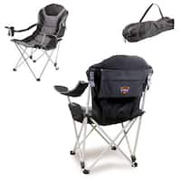 Picnic Time Phoenix Suns Black Polyester/Steel Reclining Camp Chair