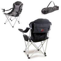 Picnic Time Portland Trailblazers Black Reclining Camp Chair