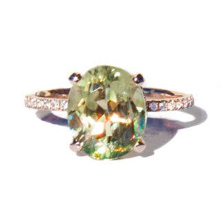 California Girl Jewelry 14k Rose Gold Color-Changing Diaspore and 2/5ct TDW Diamond Ring Size 6.5|https://ak1.ostkcdn.com/images/products/11885195/P18781821.jpg?impolicy=medium