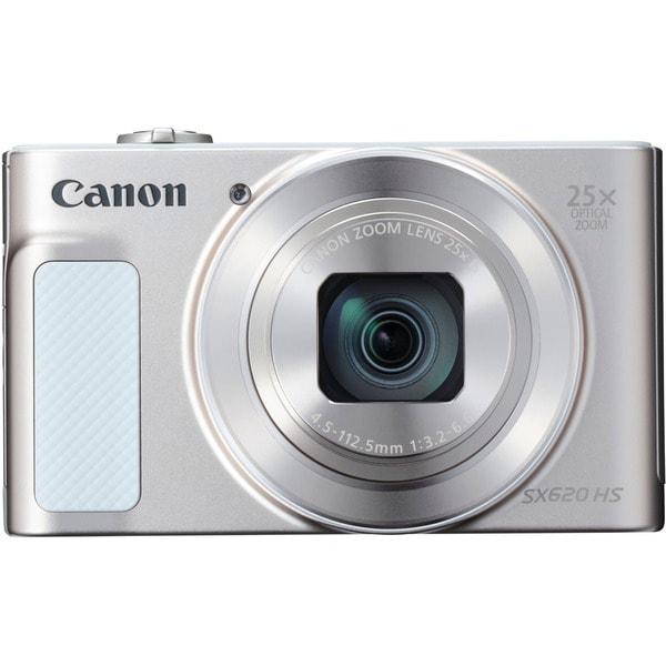 Canon PowerShot SX620 HS 20.2 Megapixel Compact Camera - Silver