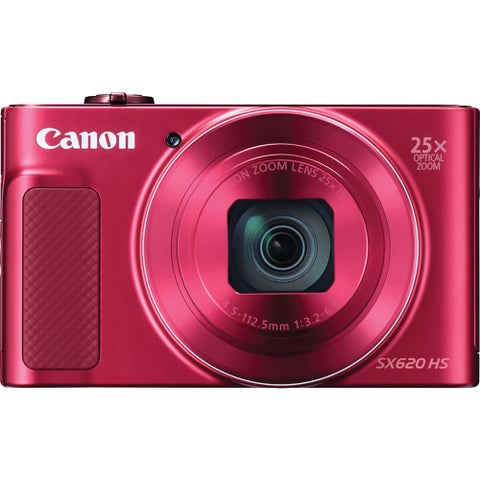 Canon PowerShot SX620 HS 20.2 Megapixel Compact Camera - Red