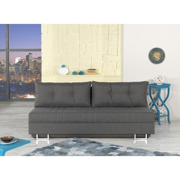 Flex Motion Futon Bed and Convertible Sofa with Storage
