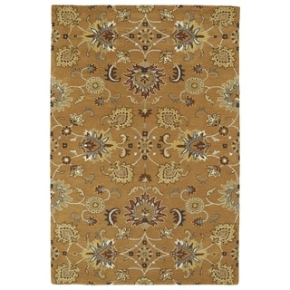 Hand-Tufted Perry Kashan Copper Wool Rug (2'0 x 3'0) - 2' x 3'