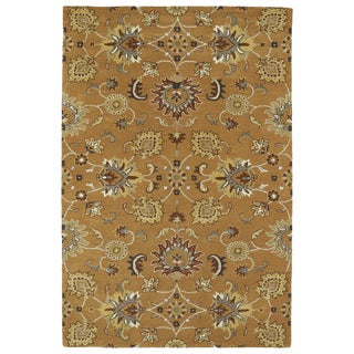 Hand-Tufted Perry Kashan Copper Wool Rug (9'0 x 12'0)