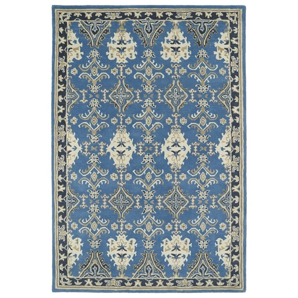 Kaleen Brooklyn Brody Rug: Shop Hand-Tufted Perry Imperial Blue Wool Rug