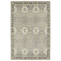 Hand-Tufted Perry Imperial Grey Wool Rug - 8' x 10'