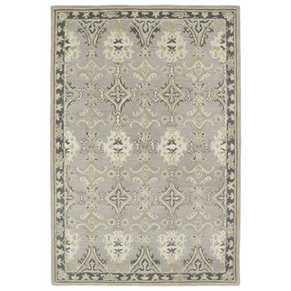 Hand-Tufted Perry Imperial Grey Wool Rug (8'0 x 10'0) - 8' x 10'