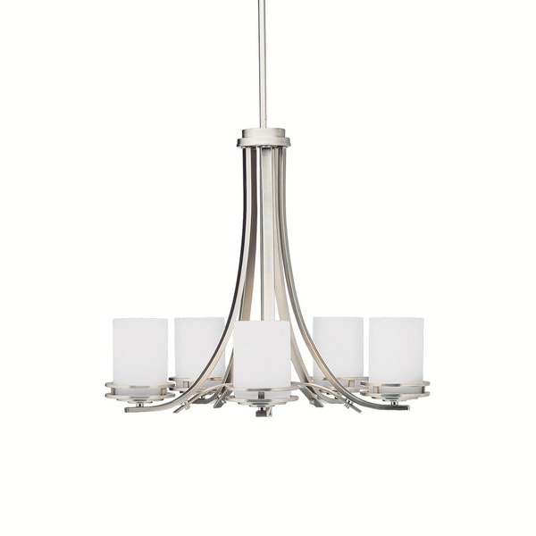 Lighting Warehouse Hendrik Potgieter: Kichler Lighting Hendrik Collection 5-light Brushed Nickel