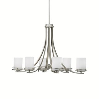 Kichler Lighting Hendrik Collection 6-light Brushed Nickel Chandelier