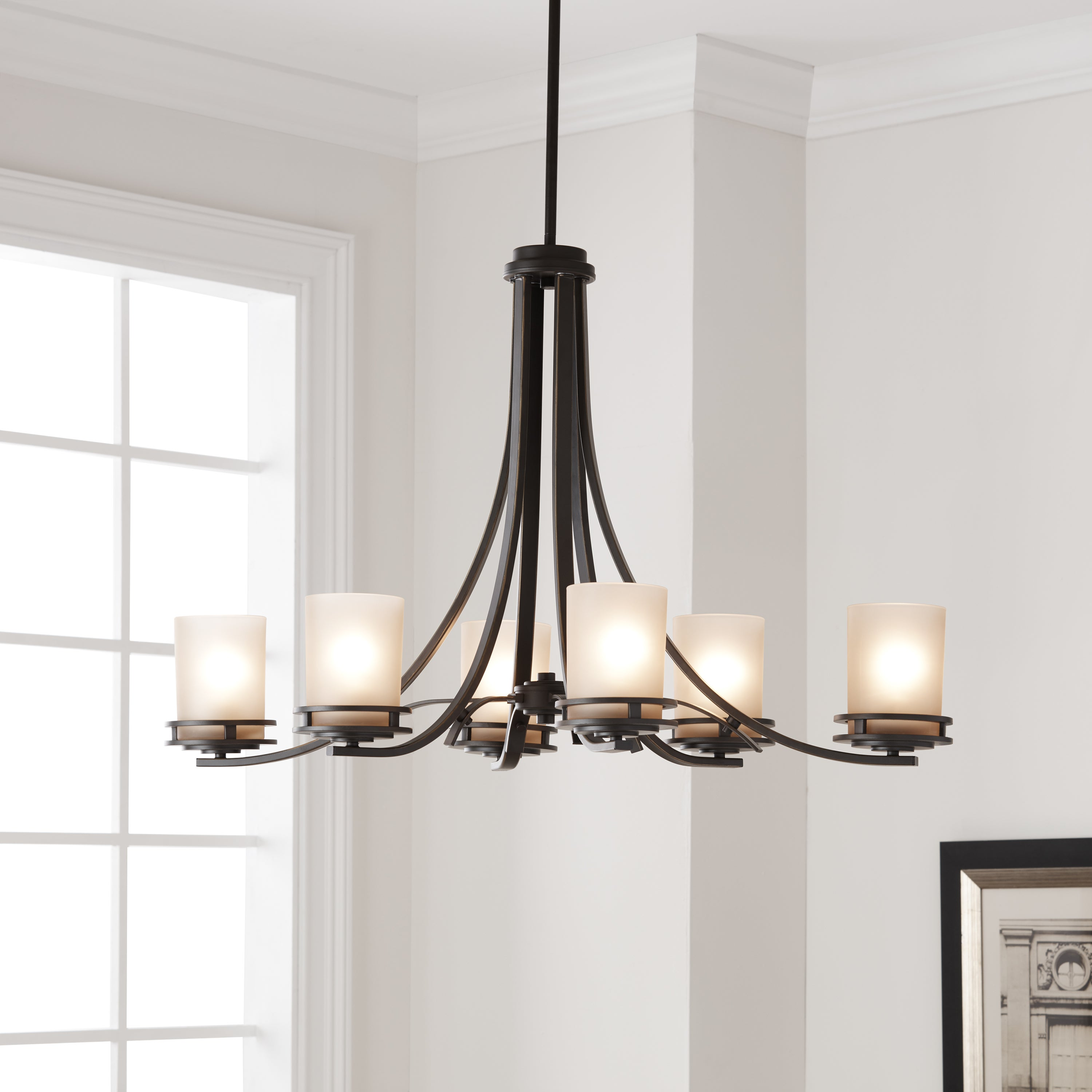 Hendrik Collection 6 Light Olde Bronze