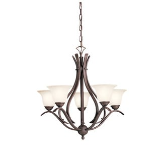 Kichler Lighting Dover Collection 5-light Tannery Bronze Chandelier